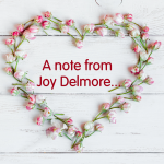 A Note from Joy