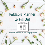 Foldable Planner HS