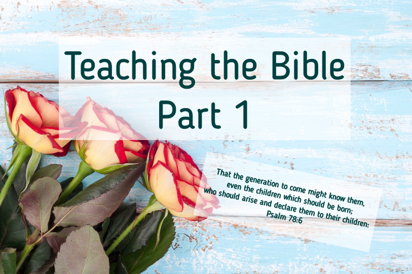 Teaching the Bible to Children