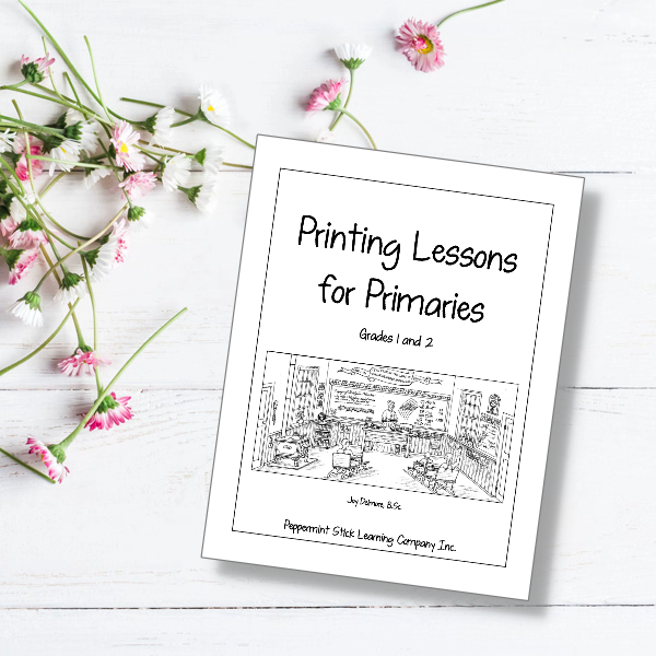 Printing Lessons for Primaries print