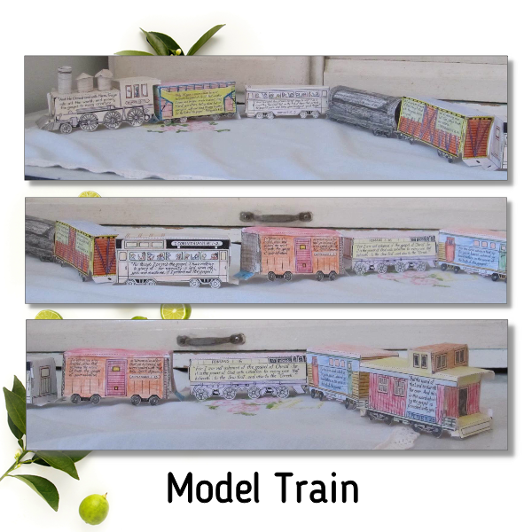 model train sample page