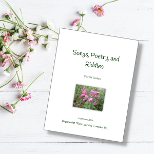 songs, riddles, poetry