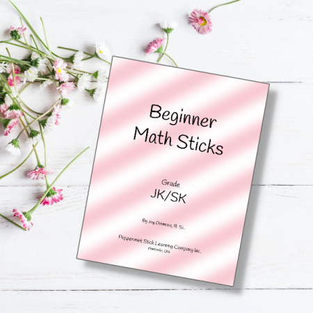 beginner math sticks