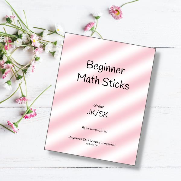 beginner math sticks