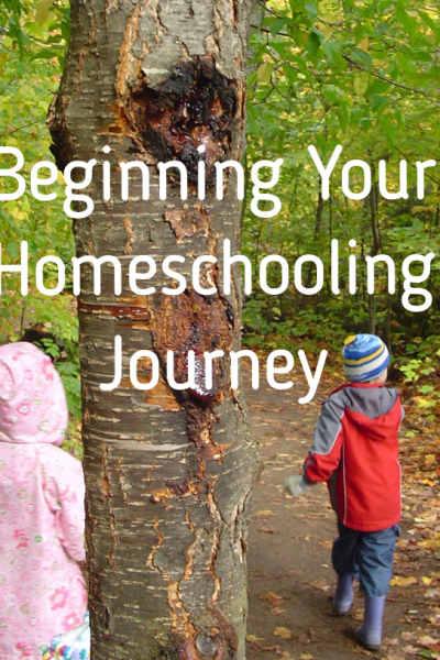 Beginning Your Homeschooling Journey