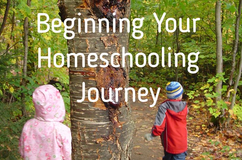 Beginning Your Homeschooling Journey