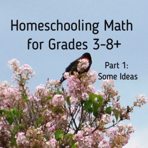 Homeschool Math grade 3, 4, 5, 6, 7, 8, high school junior senior