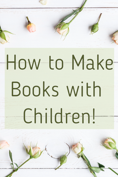 how to make books with children