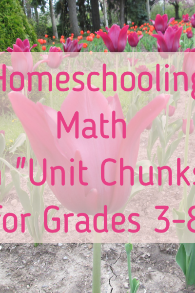 Math in Unit Chunks