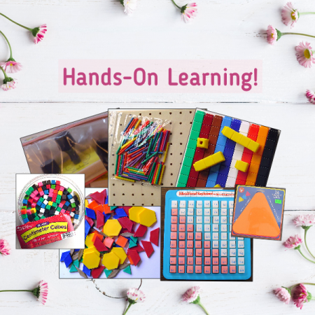 Hands-On Learning Math Manipulatives