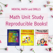 Mental Math and Drills books for teaching math