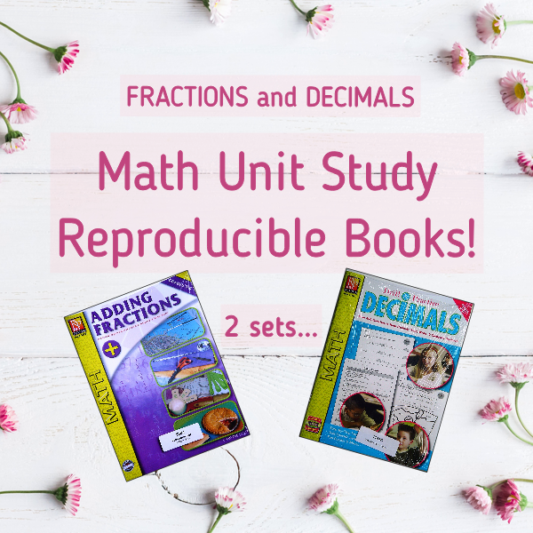 Fractions and Decimals Teaching Reproducibles