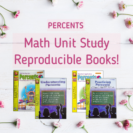 Percents math unit study