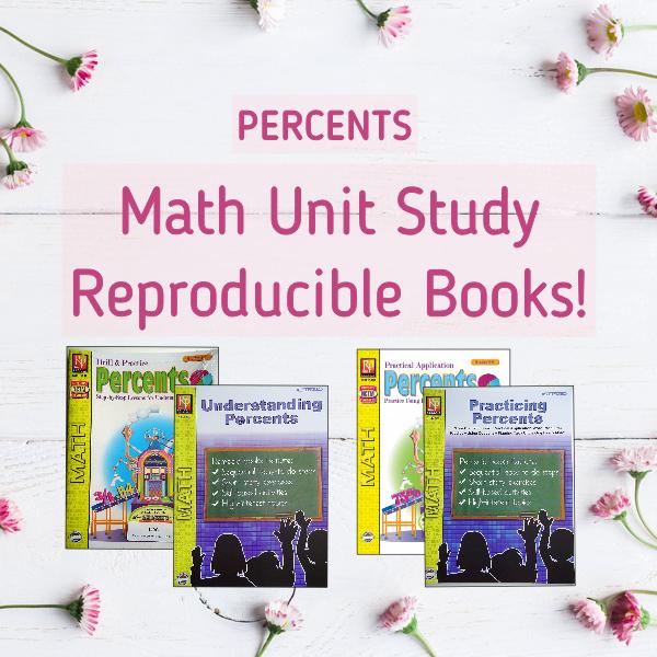 Percents math unit study