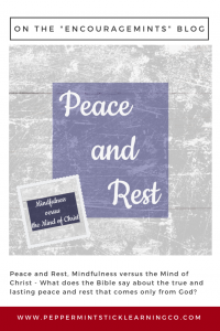 Pinnable graphic Peace and Rest