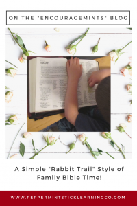 Pinnable graphic Rabbit Trail Style