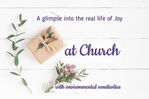 church and environmental sensitivities