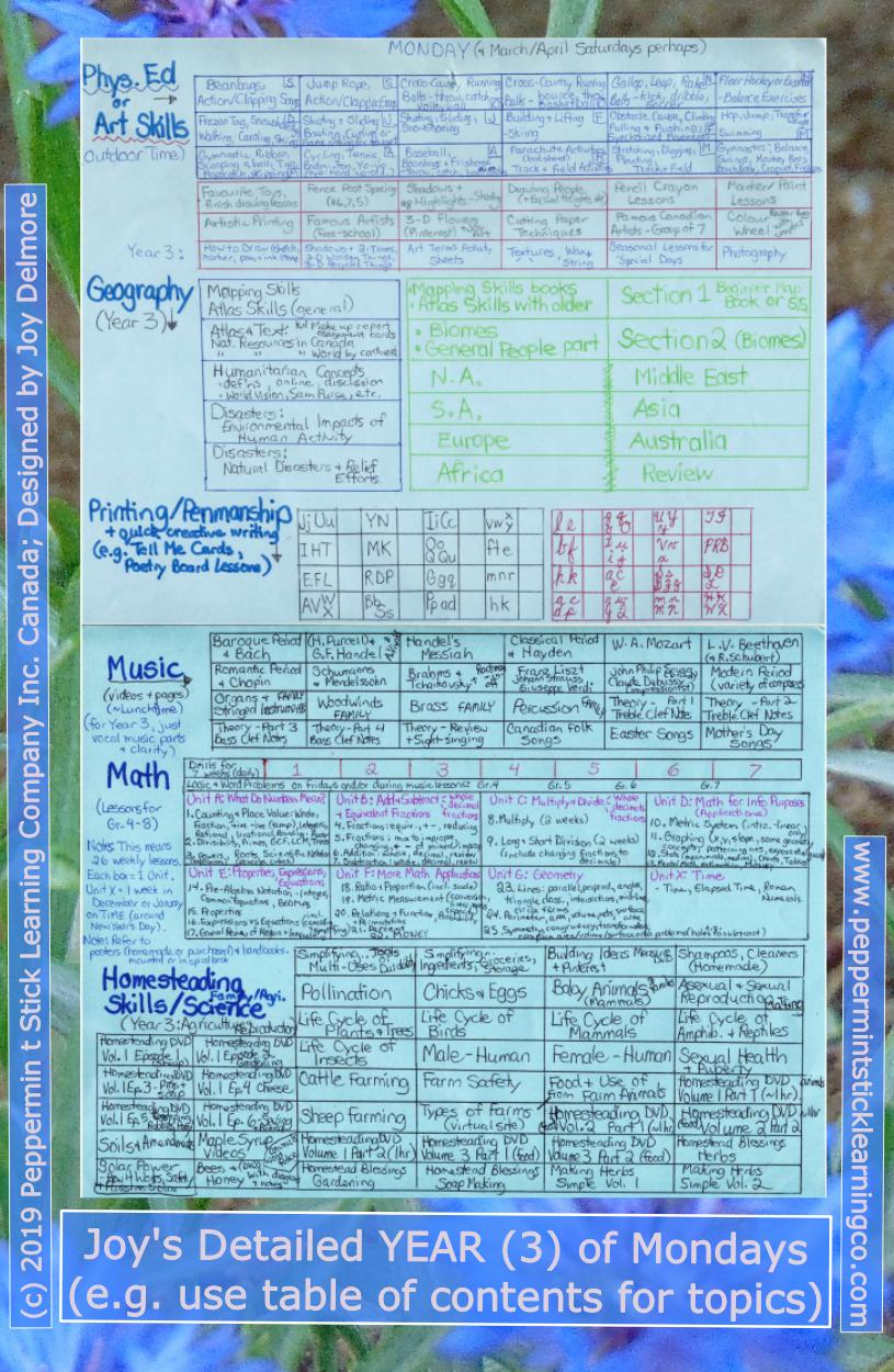 hs schedule m6