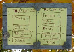 homeschool schedule th3