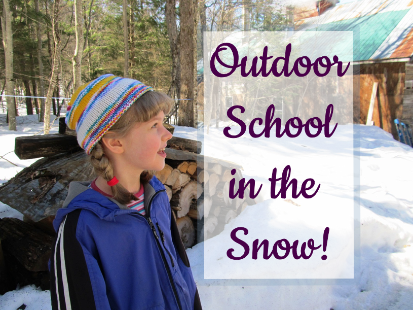 Outdoor Education in the Snow