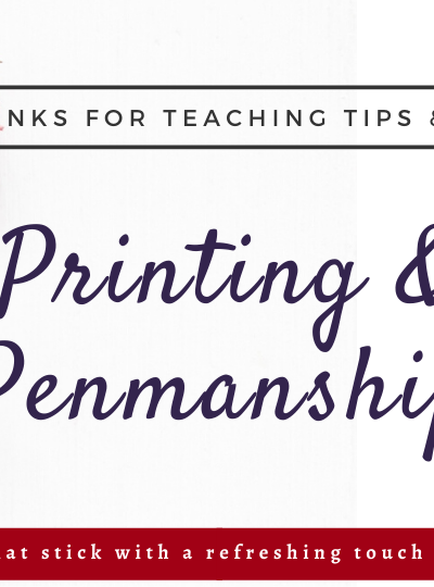 Printing and Penmanship