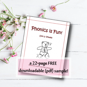 Phonics Vowels free Samplepgs