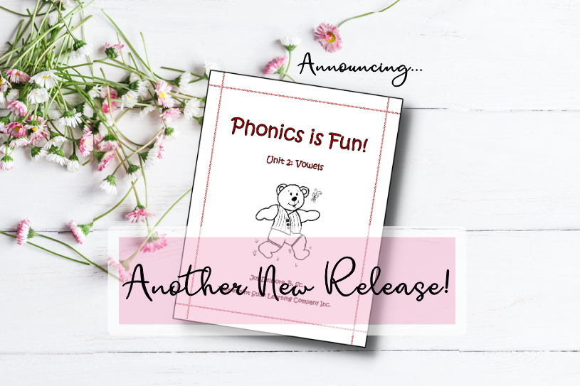 Phonics Vowels Release Blog Pic