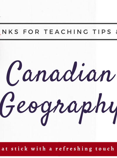 Links for Canadian Geography
