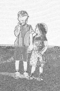 kids charcoal photo NAB NS