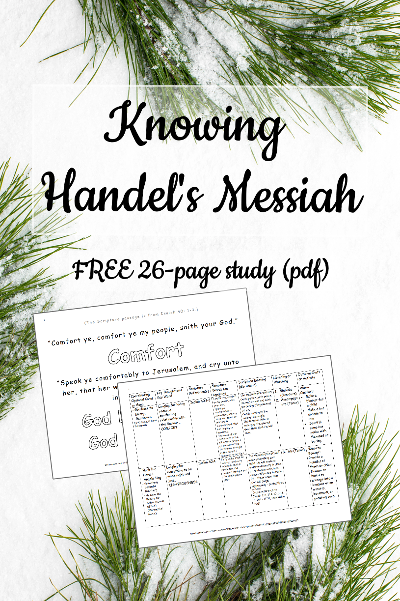 Click here for Handel's Messiah Study1