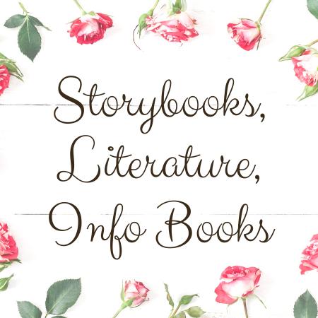 Storybooks, Literature, Info Books
