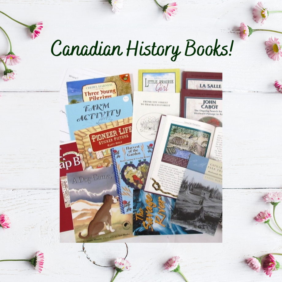 Canadian History Books FI