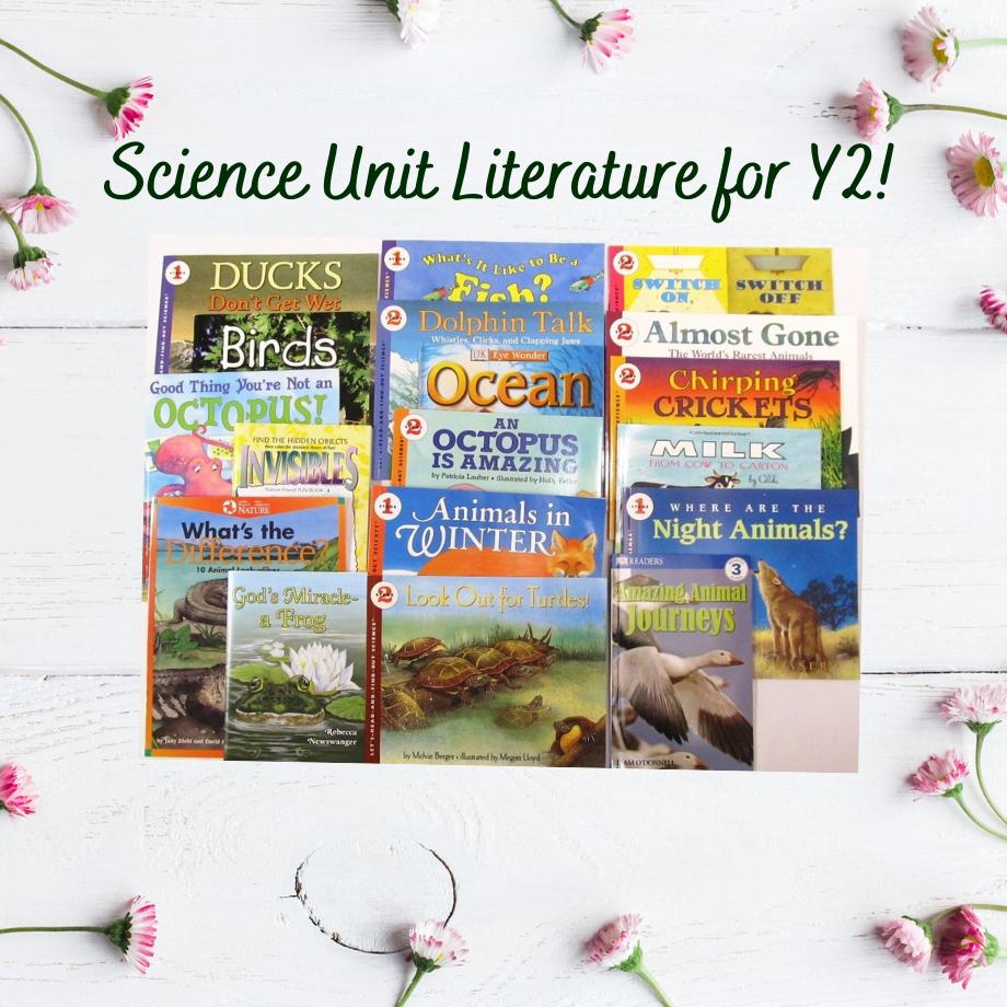Science Y2 Literature