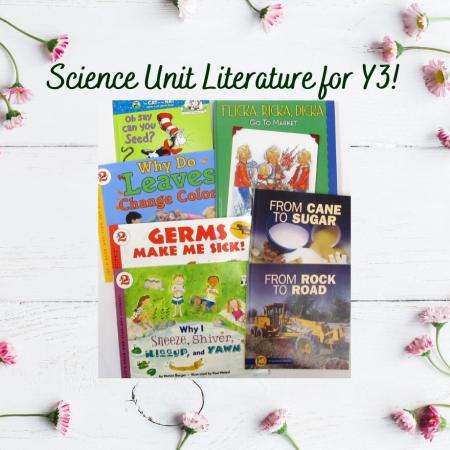 Science Literature for Y3