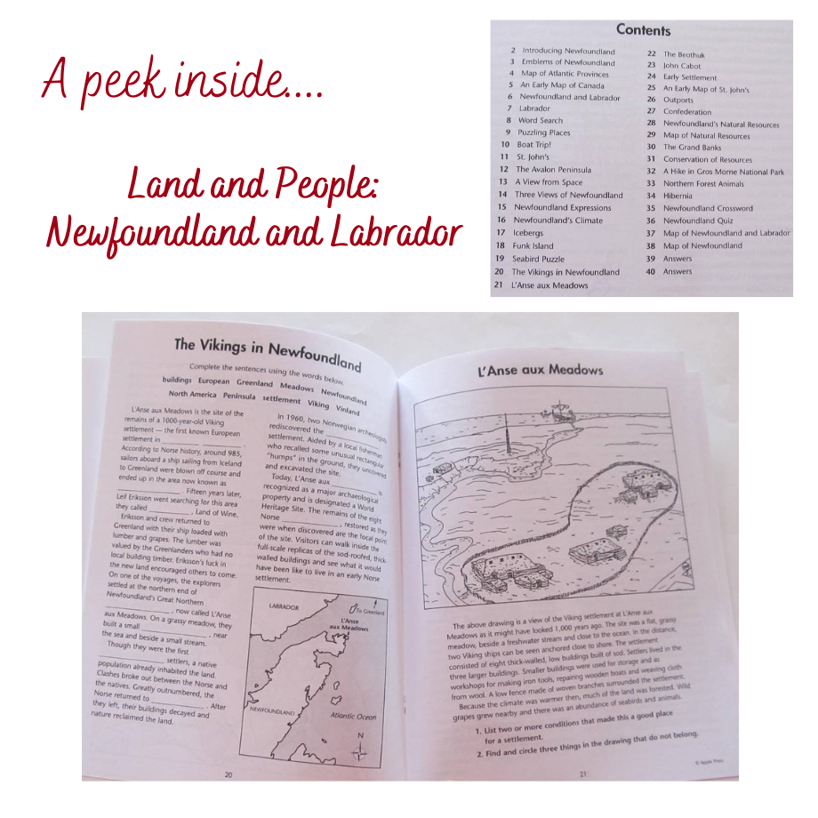 NFLD Land and People
