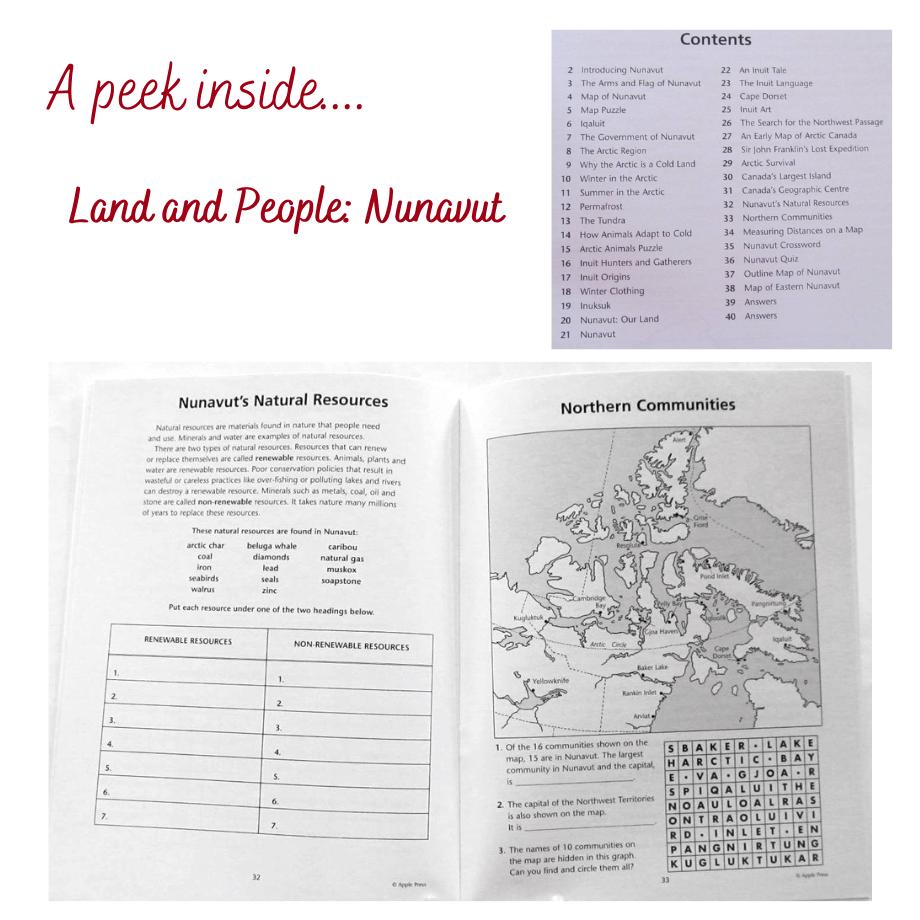 Nunavut Land and People