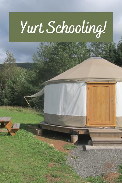 yurt schooling